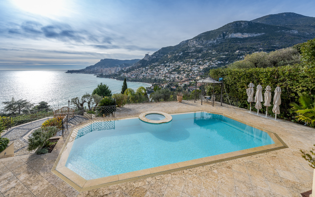 Roquebrune Cap-Martin - 'Belle Epoque' Villa - Sea and Monaco vi - 2