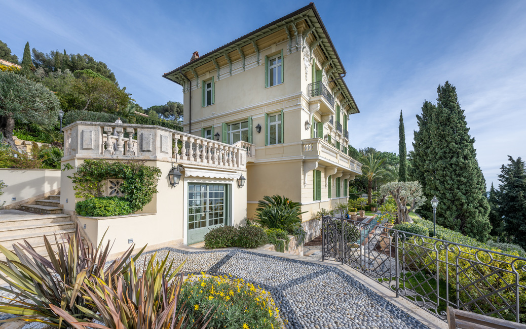 Roquebrune Cap-Martin - 'Belle Epoque' Villa - Sea and Monaco vi - 3
