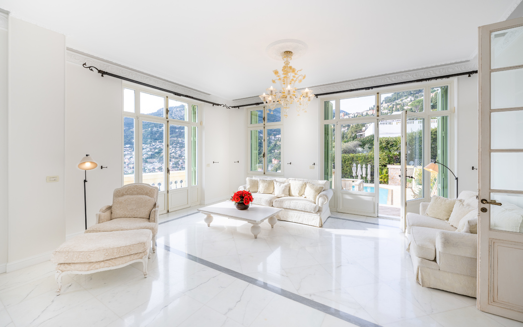 Roquebrune Cap-Martin - 'Belle Epoque' Villa - Sea and Monaco vi - 8