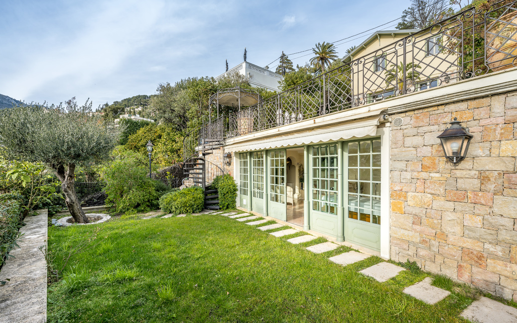 Roquebrune Cap-Martin - 'Belle Epoque' Villa - Sea and Monaco vi - 6